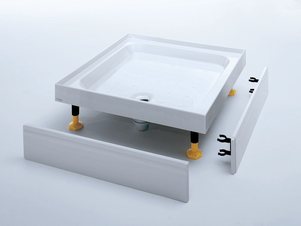 Square & Rectangular 4 Upstand Riser Shower Trays - Various Sizes ...