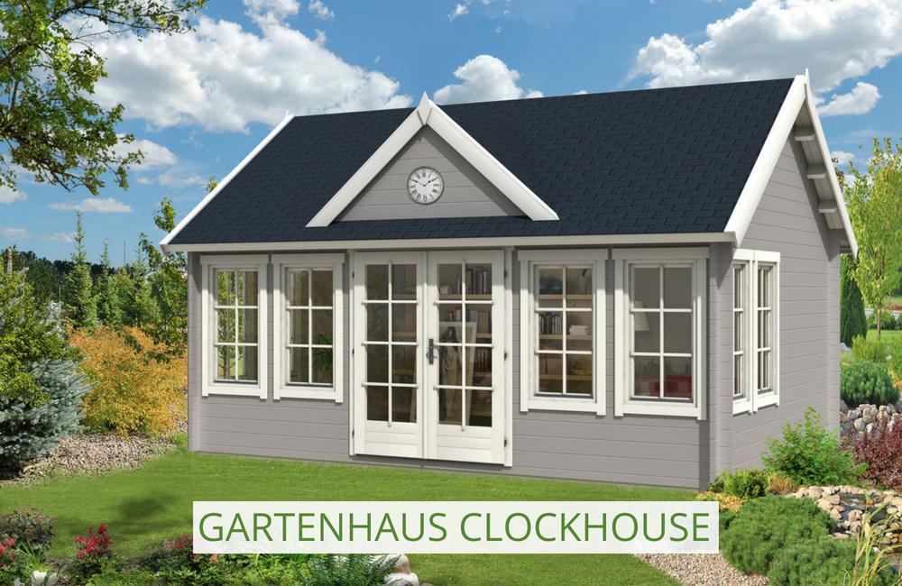 Gartenhaus Modell ClockhouseXL in 2019 Gartenhaus