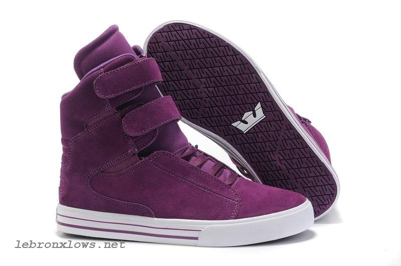 buy online ec632 37b3e Justin Bieber Supra Shoes For Girls TK Society Purplered Suede White  clearance this chirstmas day