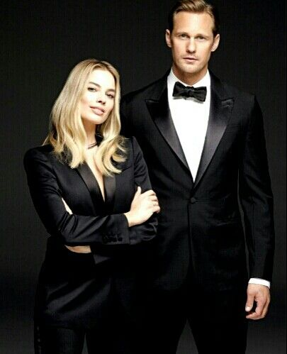 Margot Robbie and Alexander Skarsgard.