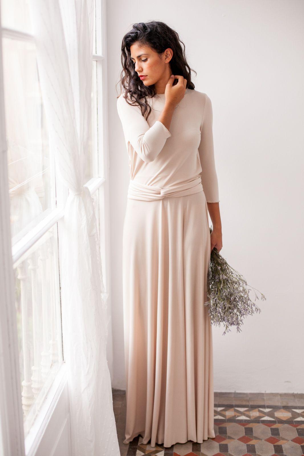 6defff9ca4 Long Sleeve Bridesmaid Dress