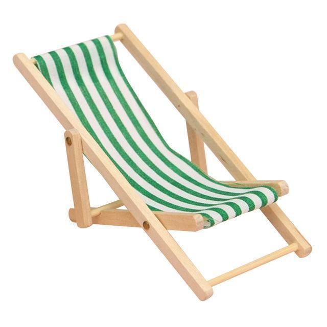 Mini Fordable Wooden Deck Beach Couch Lounger Chair Wooden Beach Chairs Deck Chairs Wooden Decks