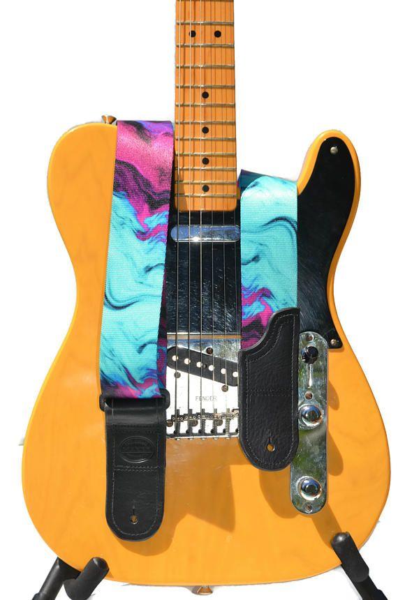 Unique Colourful Design for Kids Acoustic Electric Bass Guitar Strap