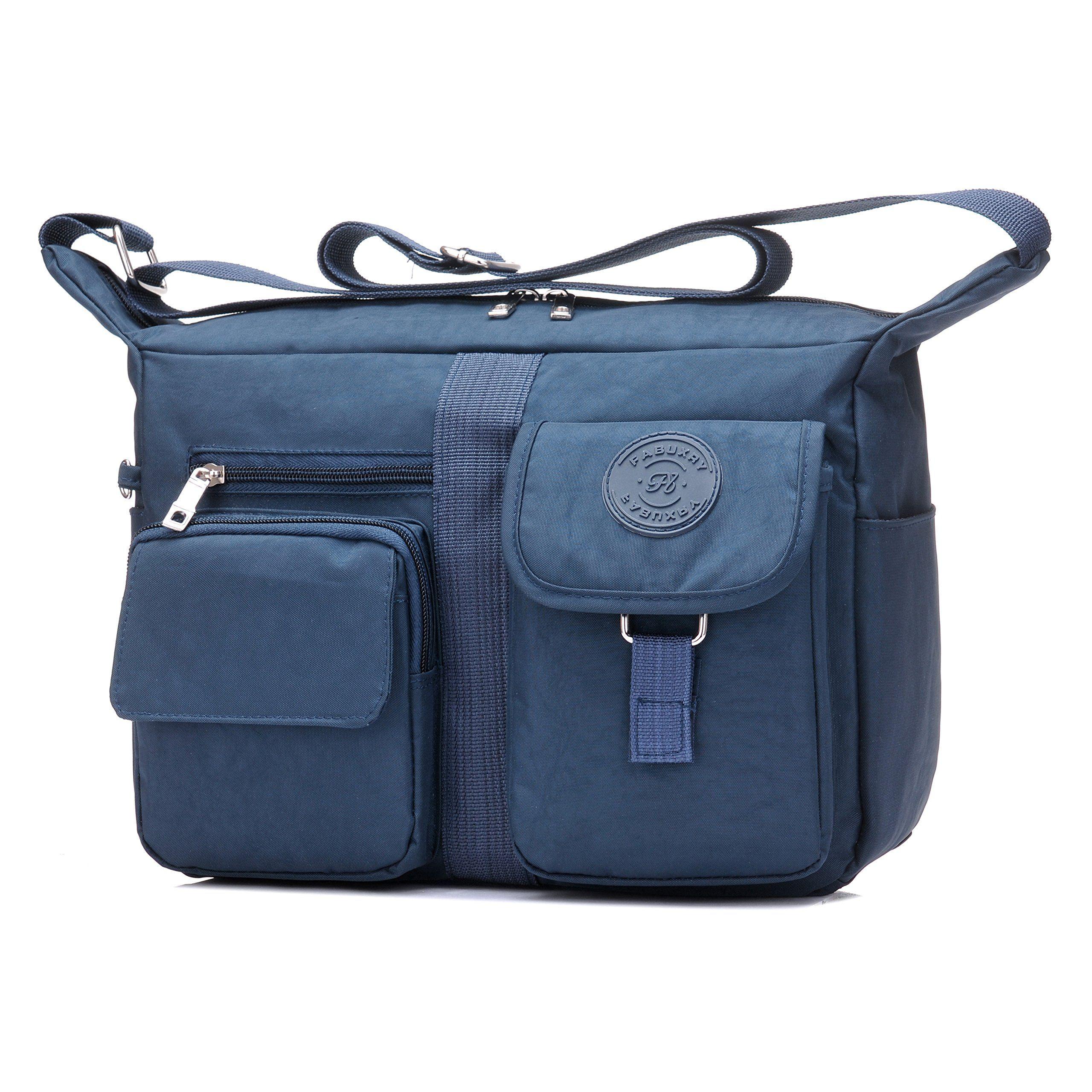 e10d42138619 Fabuxry Womens Shoulder Bags Casual Handbag Travel Bag Messenger ...