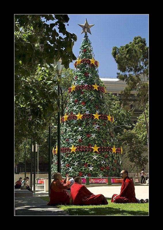Christmas Tree, Melbourne, Australia Christmas in