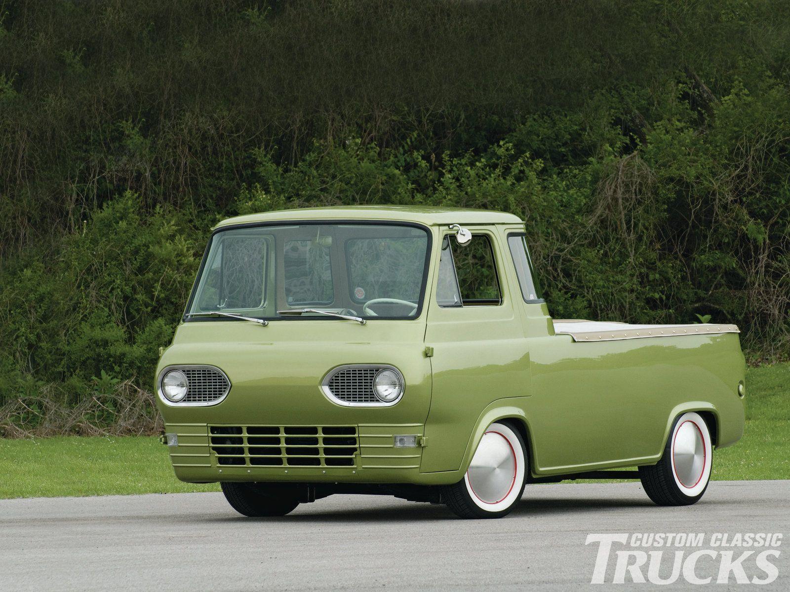1962 Ford E 100 Econoline Deluxe Cab Custom Classic Trucks