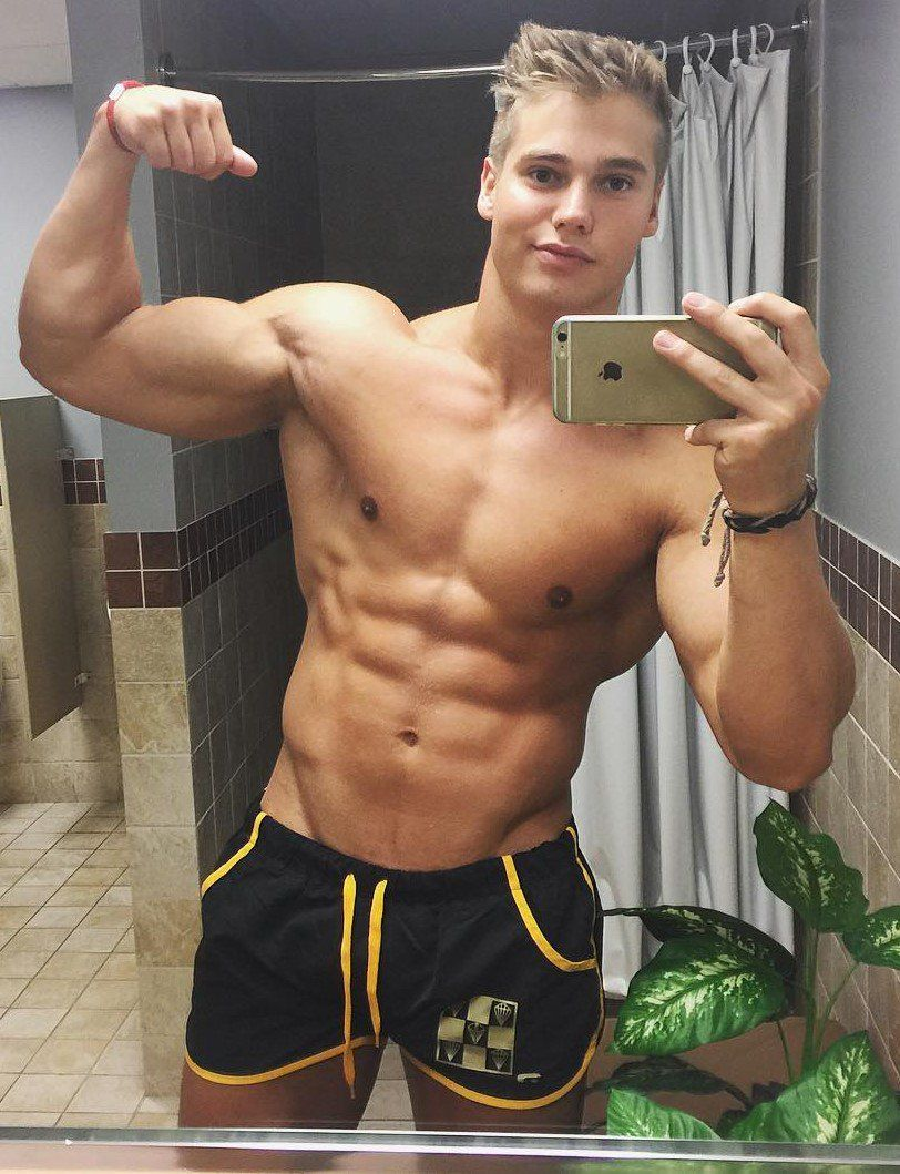 Twitter Blonde Guys Big Muscle Men Fitness Tips For Men