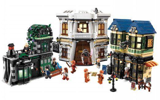 Pin By Mack On Nerd Freakin Tastic Lego Harry Potter Diagon Alley Harry Potter Diagon Alley