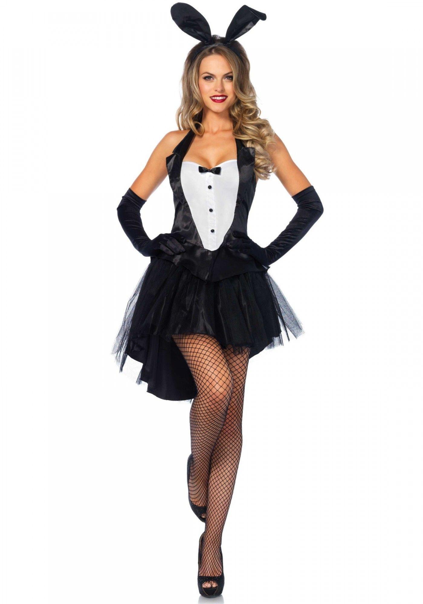 leg avenue 83951 tux tails playboy bunny dress up costume - Halloween Costume Playboy Bunny