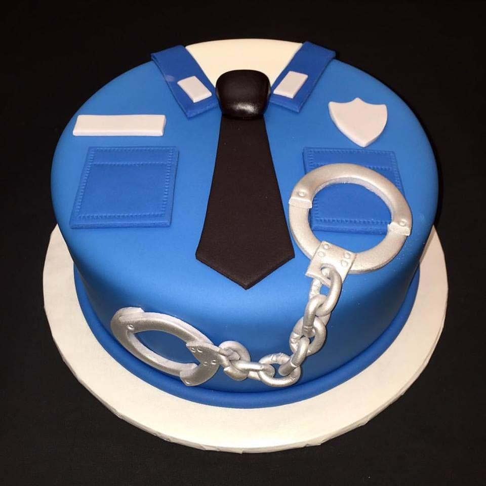 Police Uniform Cake  Caketress  Polizei kuchen
