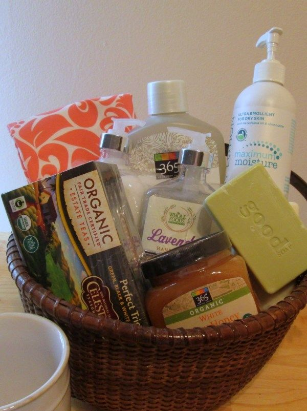 Whole Foods gift basket great for Mother's day or any ...