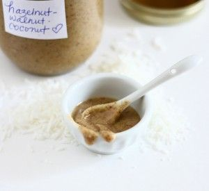 Hazelnut, Walnut, & Coconut Butter {Culinary Adventures in the Kitchen}
