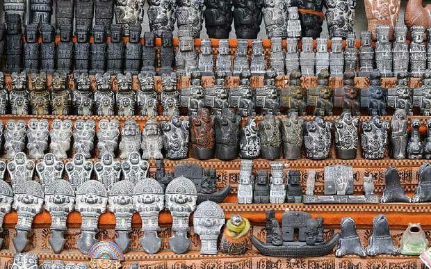 The Witches' Market in La Paz, Bolivia