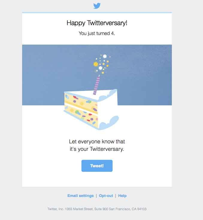 Z Email Birthday Email Email Design Inspiration Email