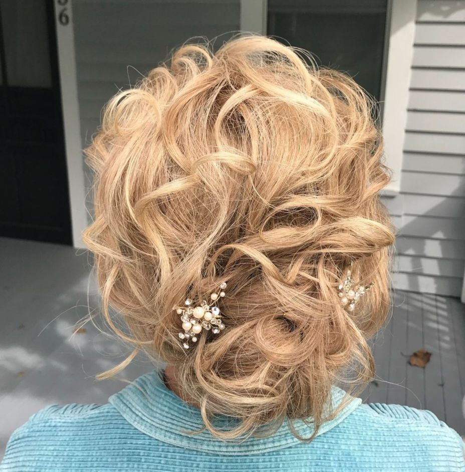 ravishing mother of the bride hairstyles in hair