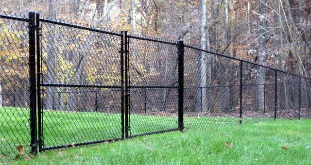 Chain Link Fence Black Black Chain Link Fence Chain Link Fence Chain Link Fence Installation