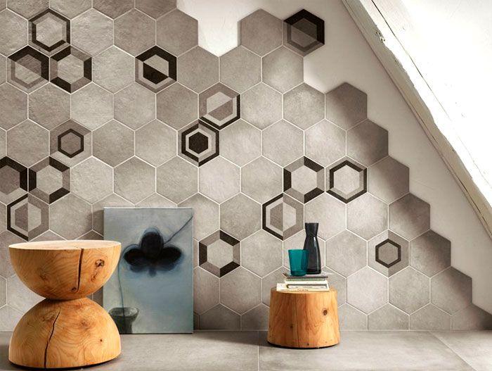 Hexagonal wall tiles decor de zid pinterest pavimenti