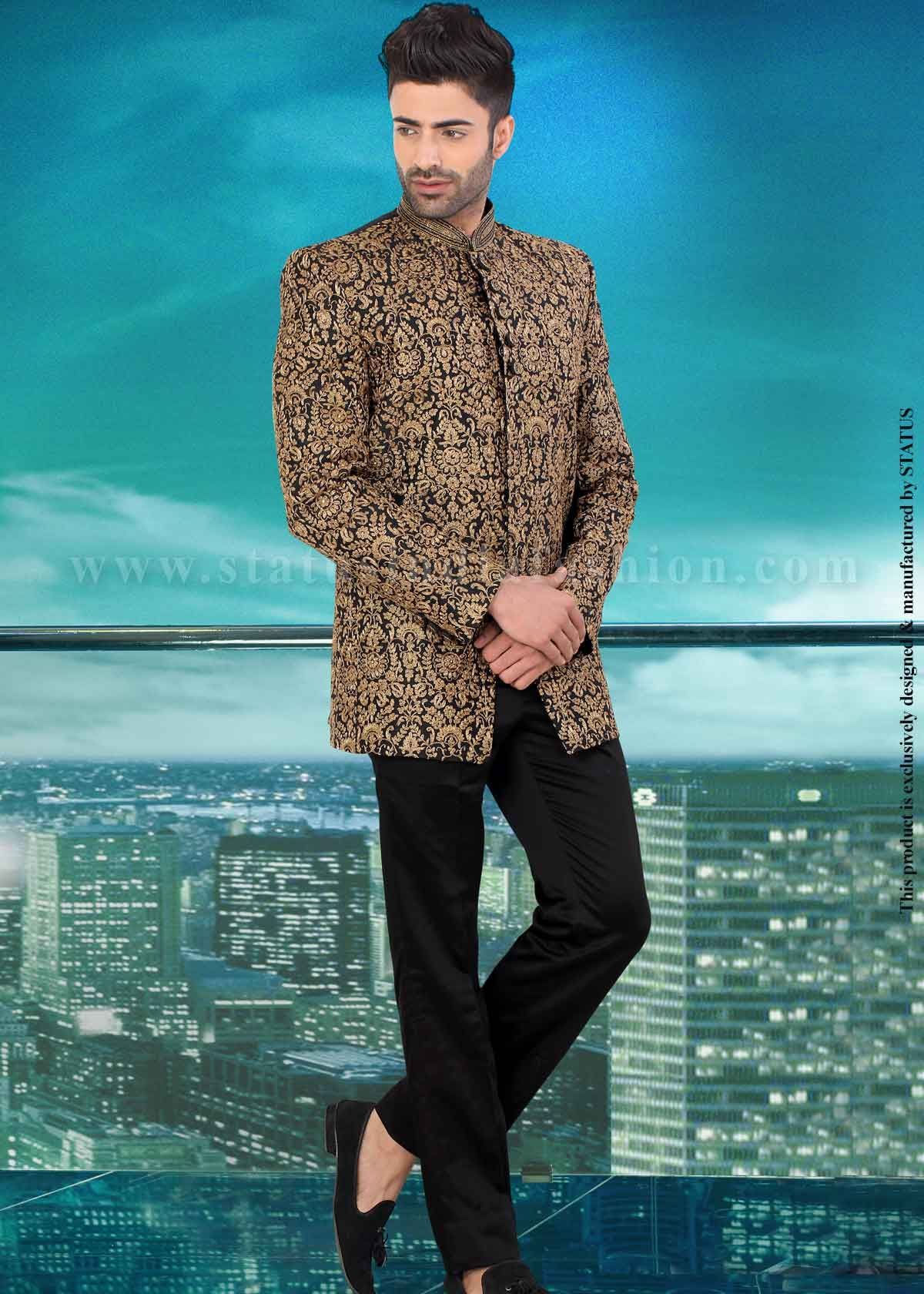 Designer Jodhpuri, sherwani, indian wedding wear, groom sherwani ...