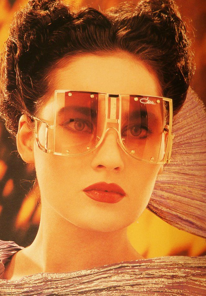 4b627cef2f7 Bladerunner inspired CAZAL vintage sunglasses advertising picture from the  book