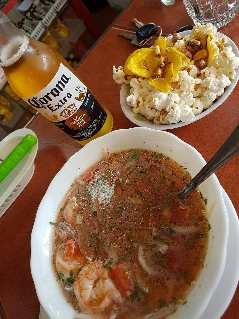 Ceviche De Camarón Gastronomíaecuatoriana