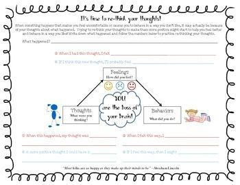 Image result for cognitive behavioral triangle worksheet | Anxiety ...