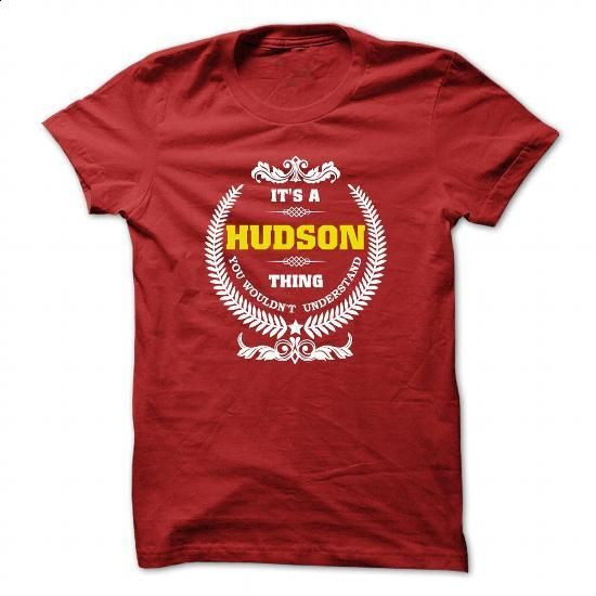 HUDSON SHIRT - #tee spring #awesome hoodie. PURCHASE NOW => https://www.sunfrog.com/Names/HUDSON-SHIRT-Red-26885535-Guys.html?68278