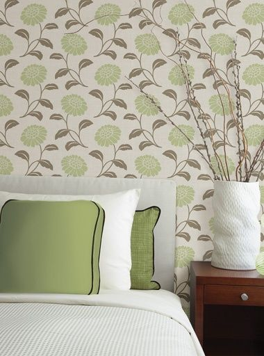 Sherwin Williams online decorating store (www.swdecorating....) has lots of wallpaper at a good price. Tons of choices in coral/terracotta.