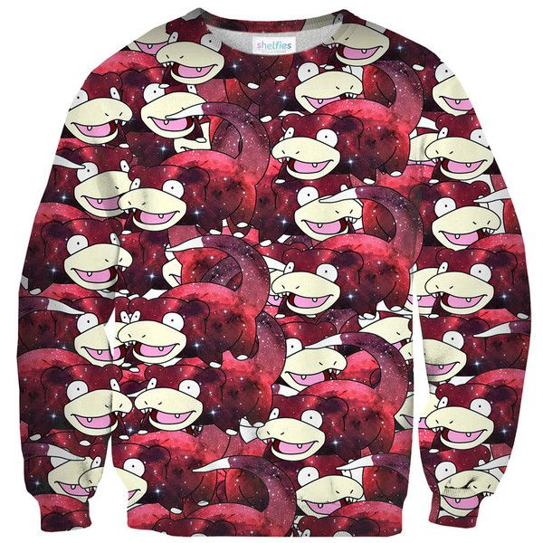 Space Slowpoke Sweater – Shelfies - Outrageous Clothing