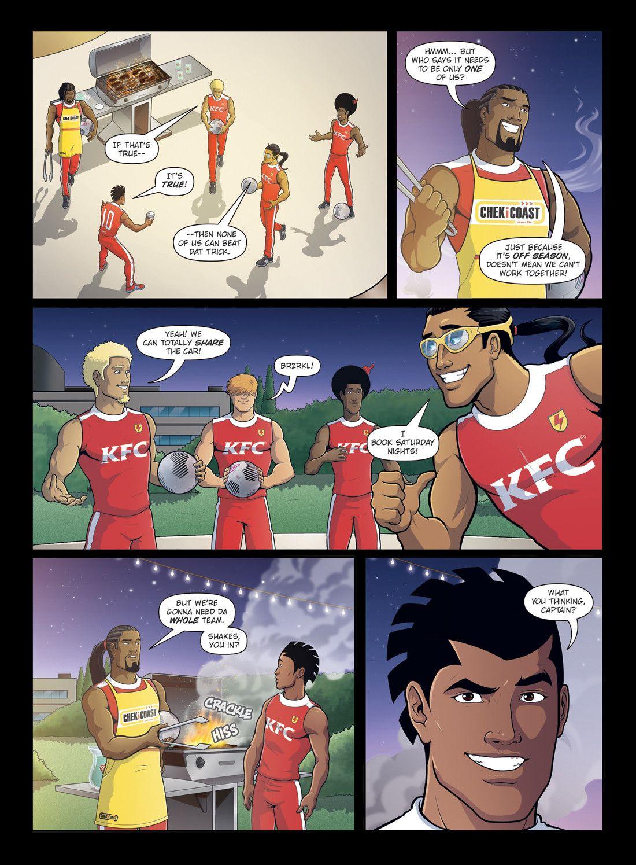 Home Supastrikas Comic Book Cover Comics Anime