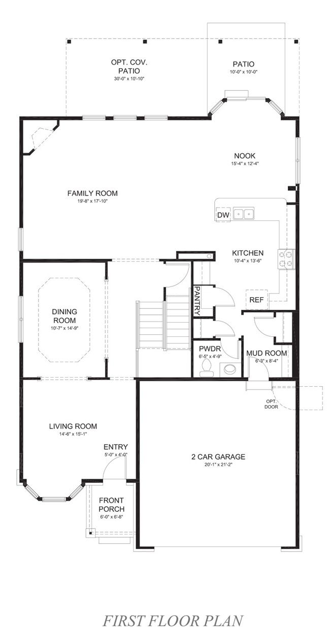 Dr Horton Floor Plans Colorado