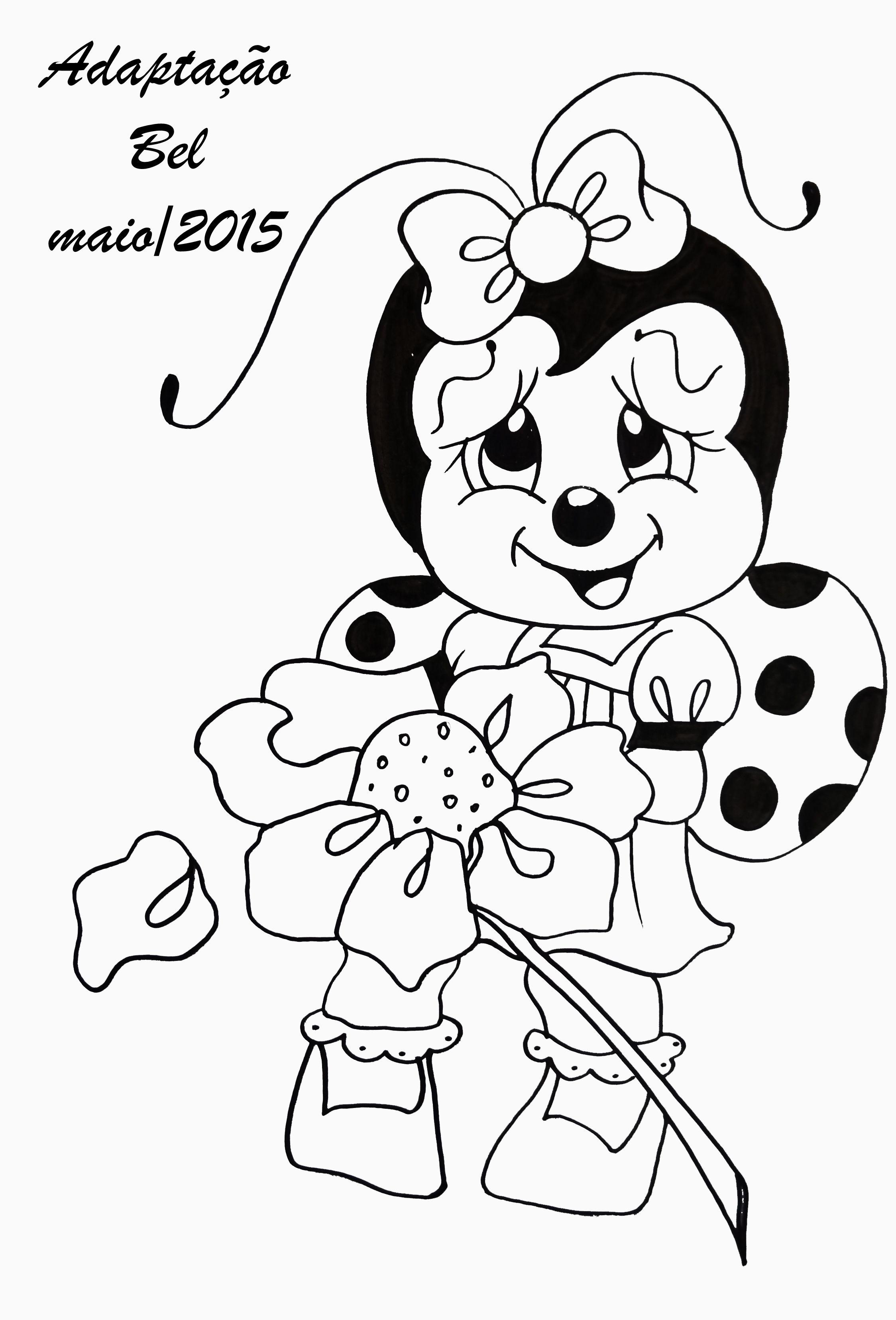 Pin De Paula Malone Em Bugs Joaninha Desenho Riscos Para Pintura