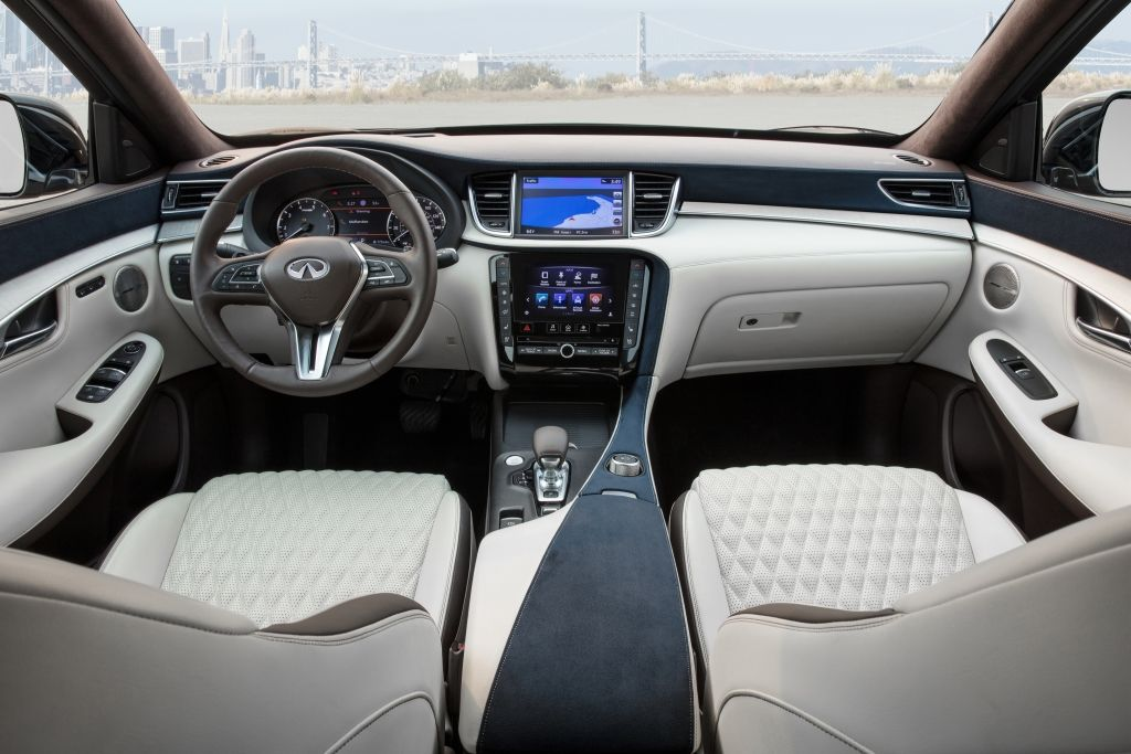 2019 Infiniti Qx50 Interior Infiniti New Infiniti Luxury Crossovers