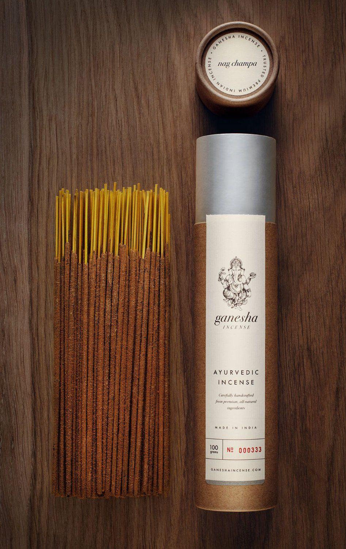 Amazon com: Nag Champa by Ganesha Incense - Premium Natural