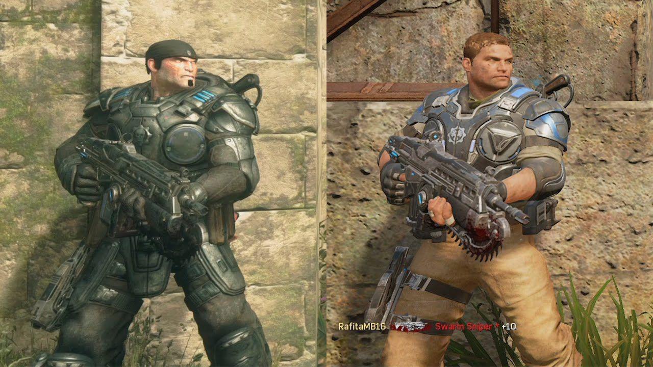 Gears of War 4 VS Gears of War Ultimate | GRAPHICS COMPARISON