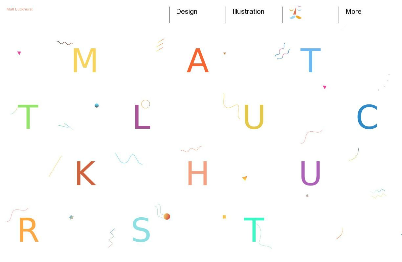 The website mattluckhurst.com courtesy of @Pinstamatic (http://pinstamatic.com)