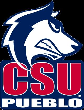 Csu Pueblo Thunderwolves Colorado State University Pueblo College Logo