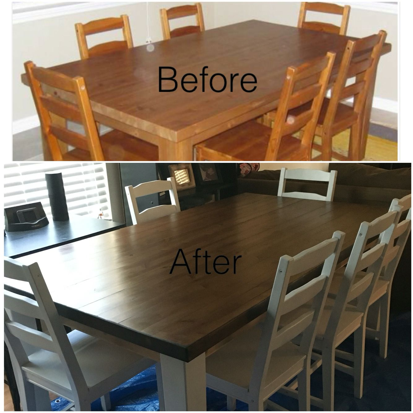 Diy Dining Table Diy Dining Table Refurbished Furniture Diy