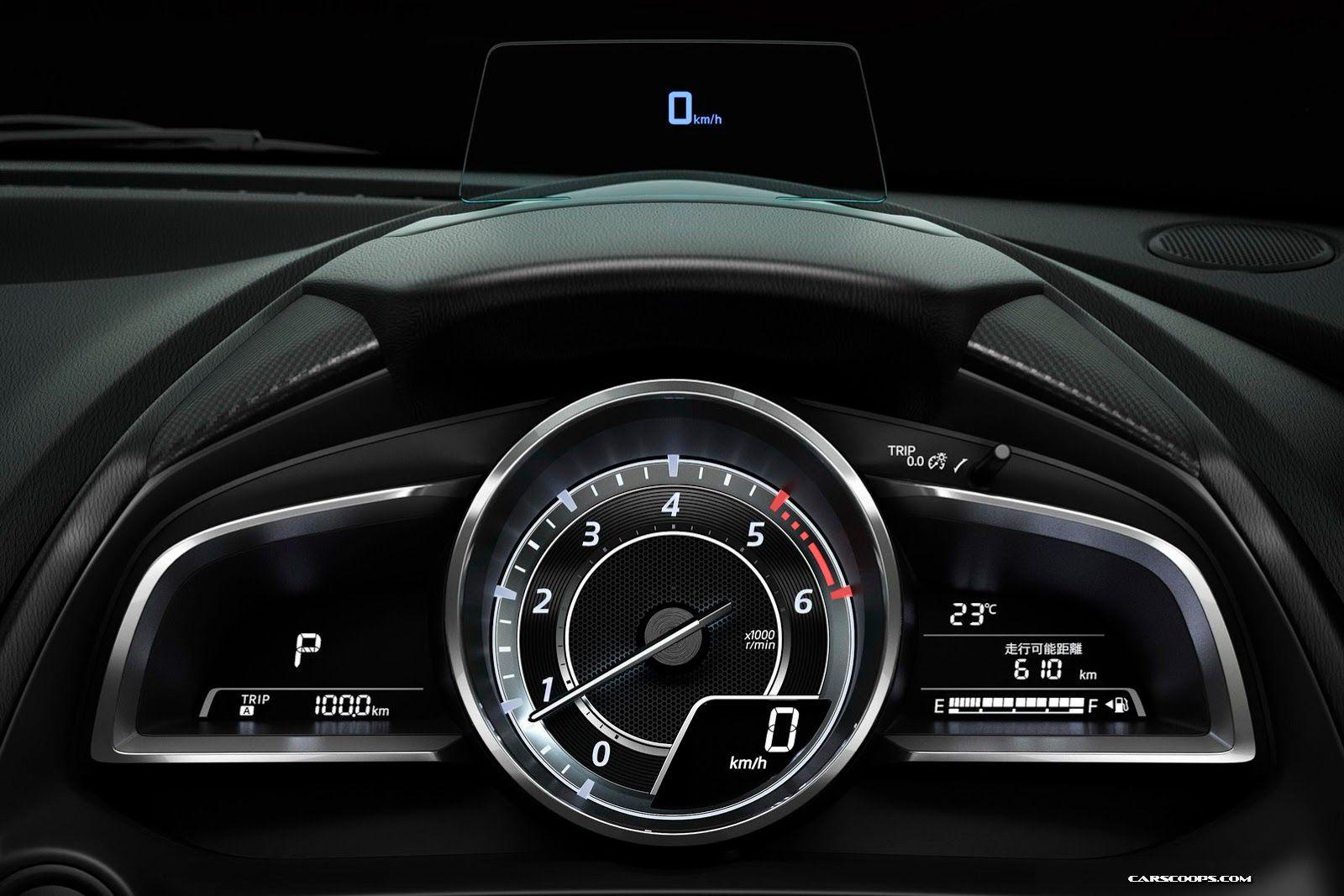 New 2015 Mazda2 Officially Breaks Cover 75 Photos Videos Carscoops Mazda Mazda 2 Vehicle Gauge