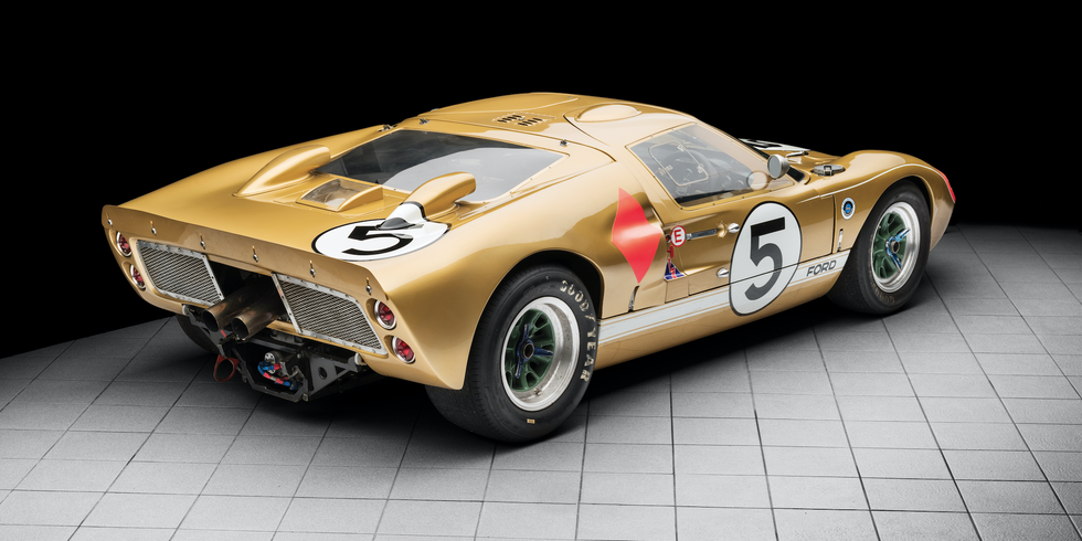 You Can Buy One Of The Gt40s That Beat Ferrari At Le Mans With