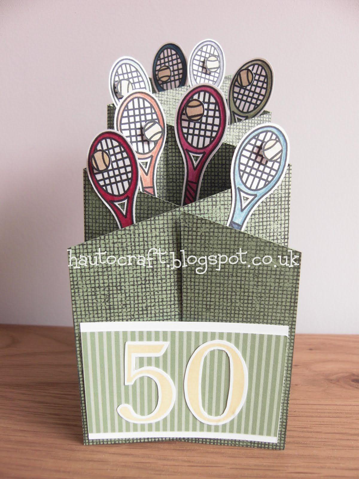 Tennis Birthday Cards Google Search Creative Cards Pinterest