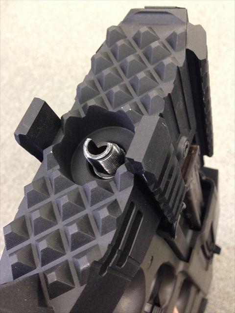 P90ストライクレイルシステム大公開 今度は真逆コンセプト