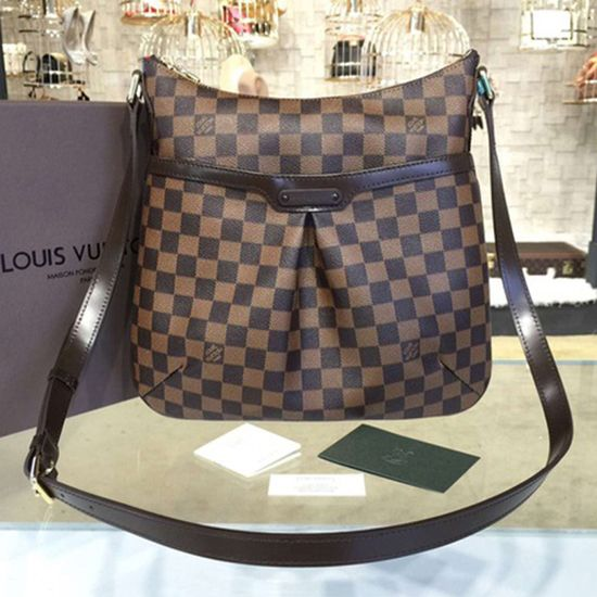 de9b62e58f Louis Vuitton N42251 Bloomsbury PM Crossbody Bag Damier Ebene Canvas ...