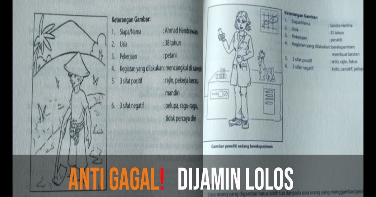 Rahasia Lolos Psikotes Menggambar Manusia Tips Trick Menggambar Orang Psikotes Lowongan Kerja Kalilapan Gambar Dalam P Menggambar Orang Gambar Gambar Orang