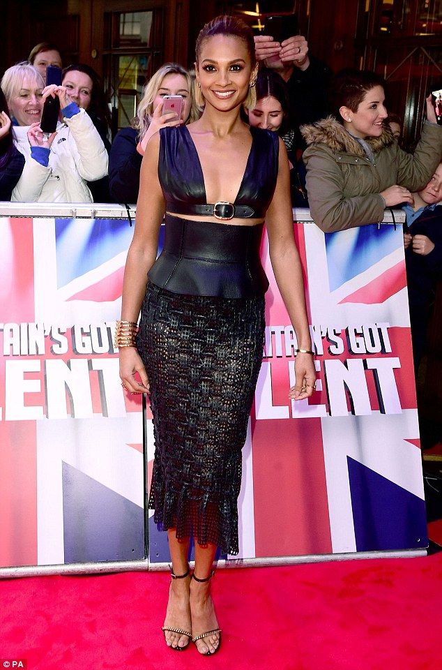 She's got the X factor! Alesha Dixon put on an impressive display when she attended the first day of the BGT auditions in London, this week