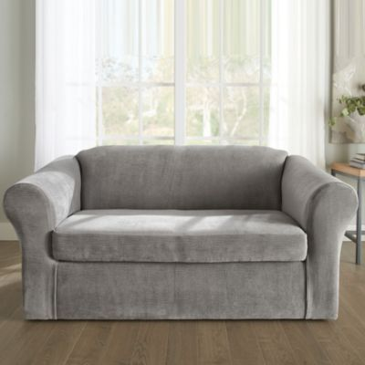 Superbe SureFit(TM) U0027Jaggeru0027 Sofa Stretch Slipcover   Sears | Sears Canada