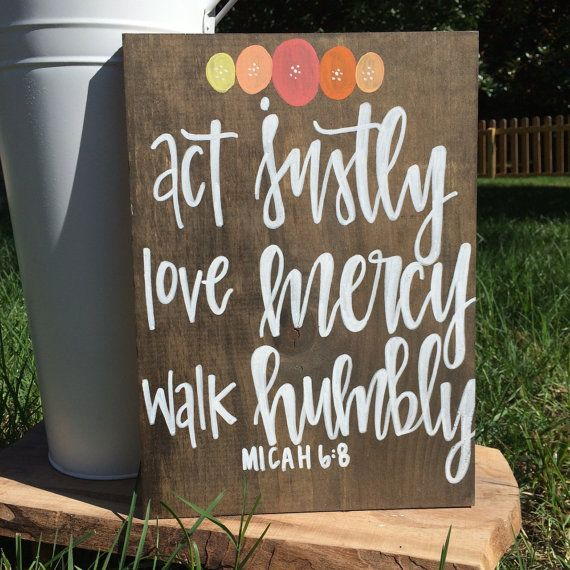 Download Act justly love mercy walk humbly rustic chic by ...