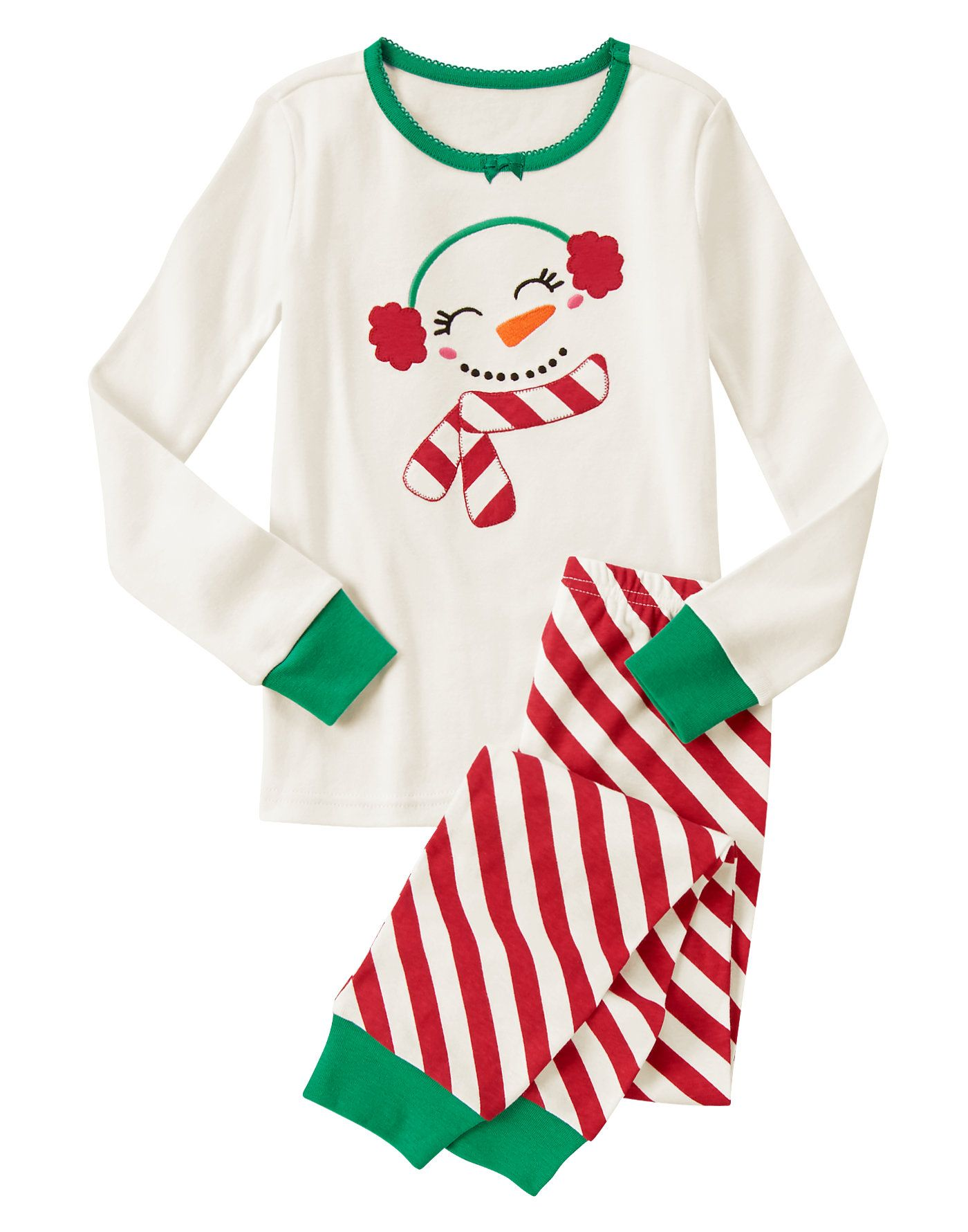 Cute Snowman TwoPiece Gymmies at Gymboree  Baby Clothes And Room