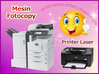 Printer Yang Memiliki Cara Kerja Seperti Mesin Fotocopy Printer