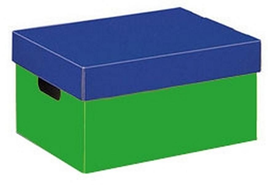 Utensilienbox Aufbewahrungsbox Grosse Din A4 Farbe Rot Blau
