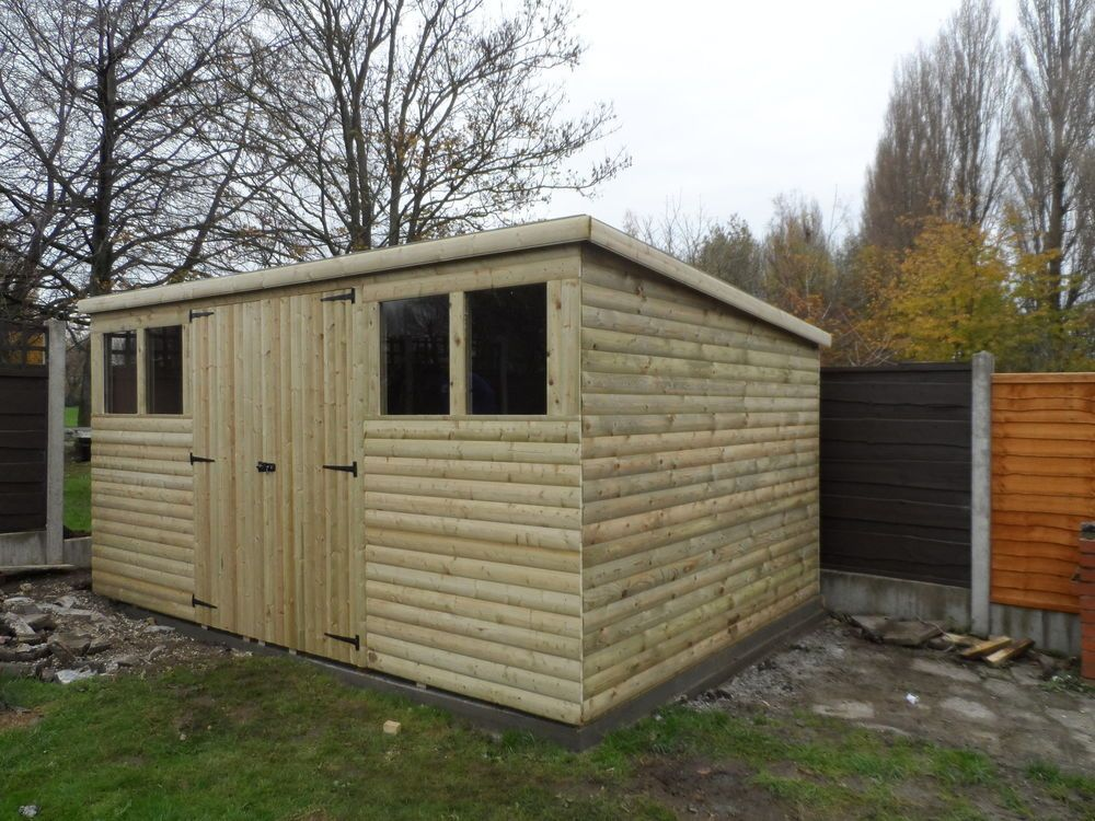 Garden Sheds 12x8 12x8 garden shed ** log lap t&g | gardens, sheds and logs